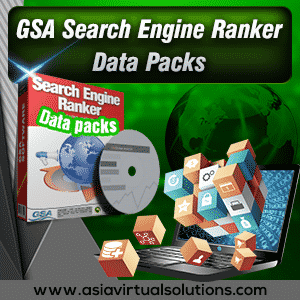 GSA Search Engine Ranker Data Pack Banner