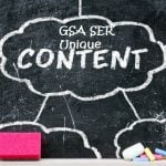 Unique content for GSA Data Pack's top tiers