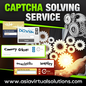 GSA Search Engine Ranker Captcha Solving Service