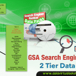 GSA Search Engine Ranker data pack – 2 tier churn and burn