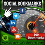 Asia Virtual Solutions 300 Social Bookmarks