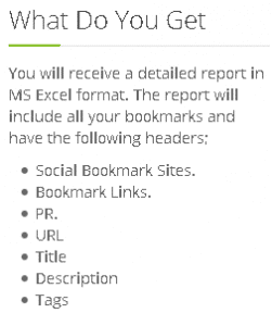 Social Bookmarking - What Do You Get