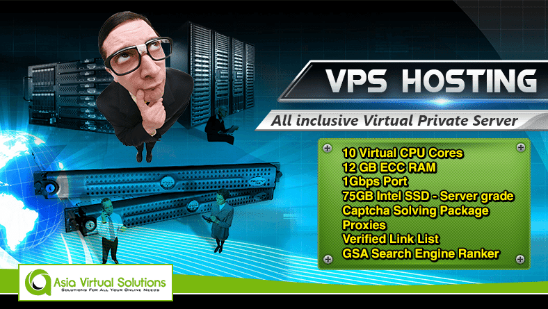 GSA SER VPS Hosting by Asia Virtual Solutions