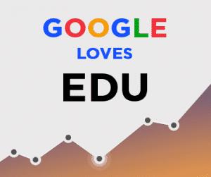 Google loves Edu and Gov