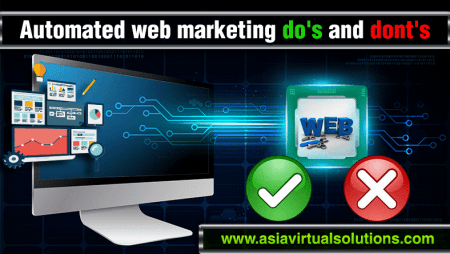 Automated web marketing dos and don'ts