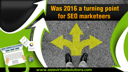 Was 2016 a turning point for SEO marketers?