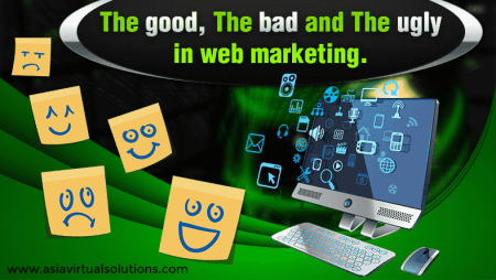 The good, the bad and the ugly in web marketing
