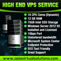 High End VPS Banner
