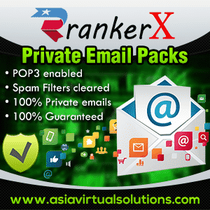 RankerX Email packs