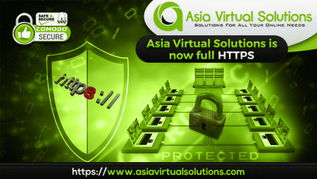 Asia Virtual Solutions Website is Now Fully HTTPS://