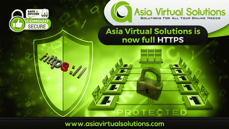 Asia Virtual Solutions go HTTPS