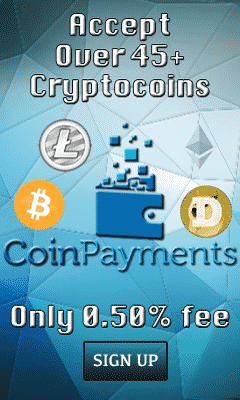 CoinPayments 240x400 Banner