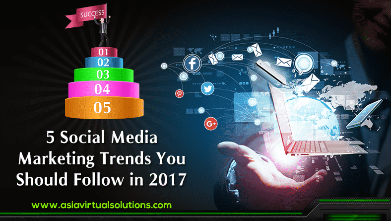 5 Social Media Marketing Trends You Should Follow in 2017