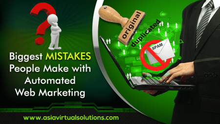 Biggest Mistakes with Automated Web Marketing
