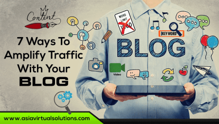 7 ways to amplify traffic with your blog