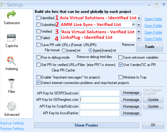 Learn Simple Steps How To Correctly Use GSA Global Site List