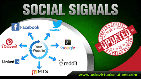 Asia Virtual Solutions – Social Signals Service Updated – Boost Your SEO with Social Signals
