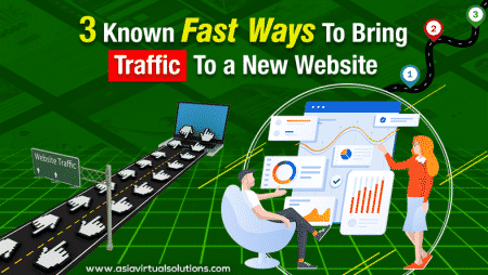 3 known fast ways to bring traffic to a new website