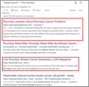 Link Roundup with Google Search